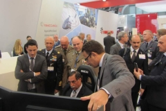 MSPO 2014_On. Rossi al simulatore M-346